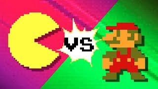 Pacman vs Super Mario