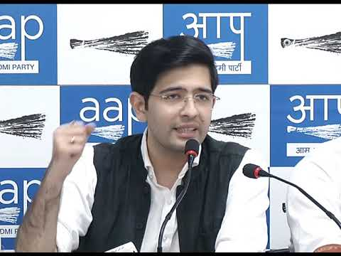 AAP Leader Briefs on the Issue of Physical assault of BJP Office Bearer of Purvanchal Morcha