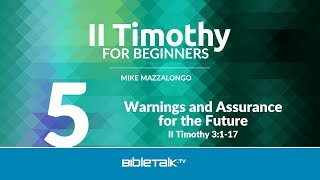 Paul's Warnings and Assurance for the Future