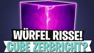 CUBE ZERBRICHT? WÜRFEL RISSE! | NEUES EVENT | Fortnite Battle Royale