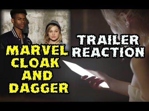 TRAILER MARVEL CLOAK AND DAGGER TV - VIDEOREACCION - CRITICA Y OPINION - CAPA Y PUÑAL