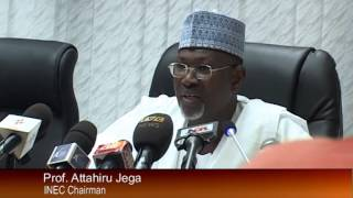 INEC Presents Voters REG to Political Parties