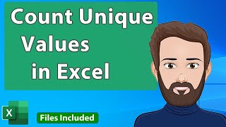 Count Occurrences of Unique Values in a List in Excel