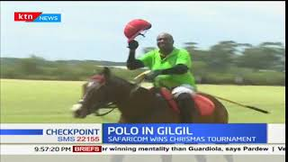 Safaricom team wins against Royal Salute in Christmas Polo tournament