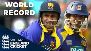Jayasuriya and Tharanga Break World Record For Opening Partnerships | ODI 2006 - Highlights