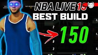 DEMI GOD BUILD FOR NBA LIVE 19 ! 150 POINTS! Builds by JackedBill
