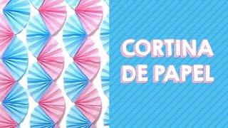 Aprenda como fazer uma decoração de parede super barata e fácil para sua festa! É uma linda cortina feita com leques de papel! INSCREVA-SE NO CANAL: http://bit.ly/pri-porto-inscrever  CONHEÇA MEU SITE: https://amofestas.com  MINHAS REDES SOCIAIS:  Facebook: http://bit.ly/pri-porto-facebook Instagram: http://bit.ly/pri-porto-instagram