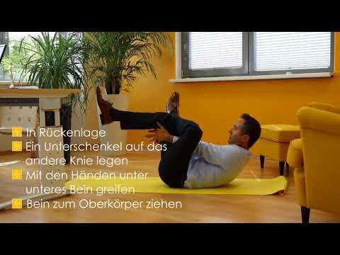 Die Gymnastik für den Hals bei der Kephalgie