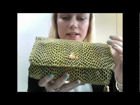 Vivienne Westwood Bamboo Bead Snake Print Small Bag – Review