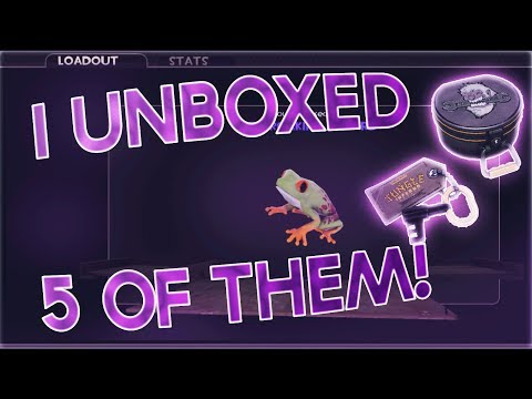 TF2: UNBOXING 5 OF THE NEW ABOMINABLE COSMETIC CASES!!! (AWESOME PULLS)