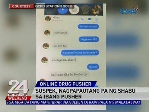 [GMA]  2 drug pusher umanong nakikipagtransaksyon online, arestado