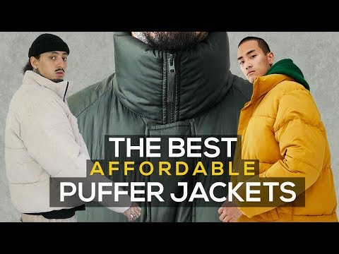 BEST PUFFER JACKETS | AFFORDABLE WINTER FALL ESSENTIALS