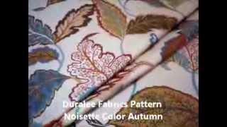 Duralee Fabrics Pattern Noisette Color Autumn