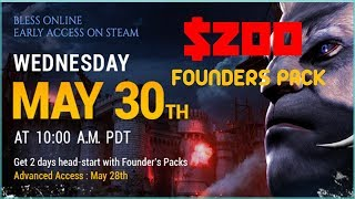 Bless Online Confirms May 30 Release Date + $200 Founders Pack LUL