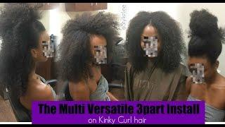 The 3-Way Kinky Curly Vixen| Los Angeles| Hair Salon | Stylist Lee