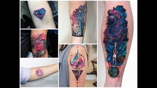Top-50 Fantastic Galaxy Tattoo Design Ideas