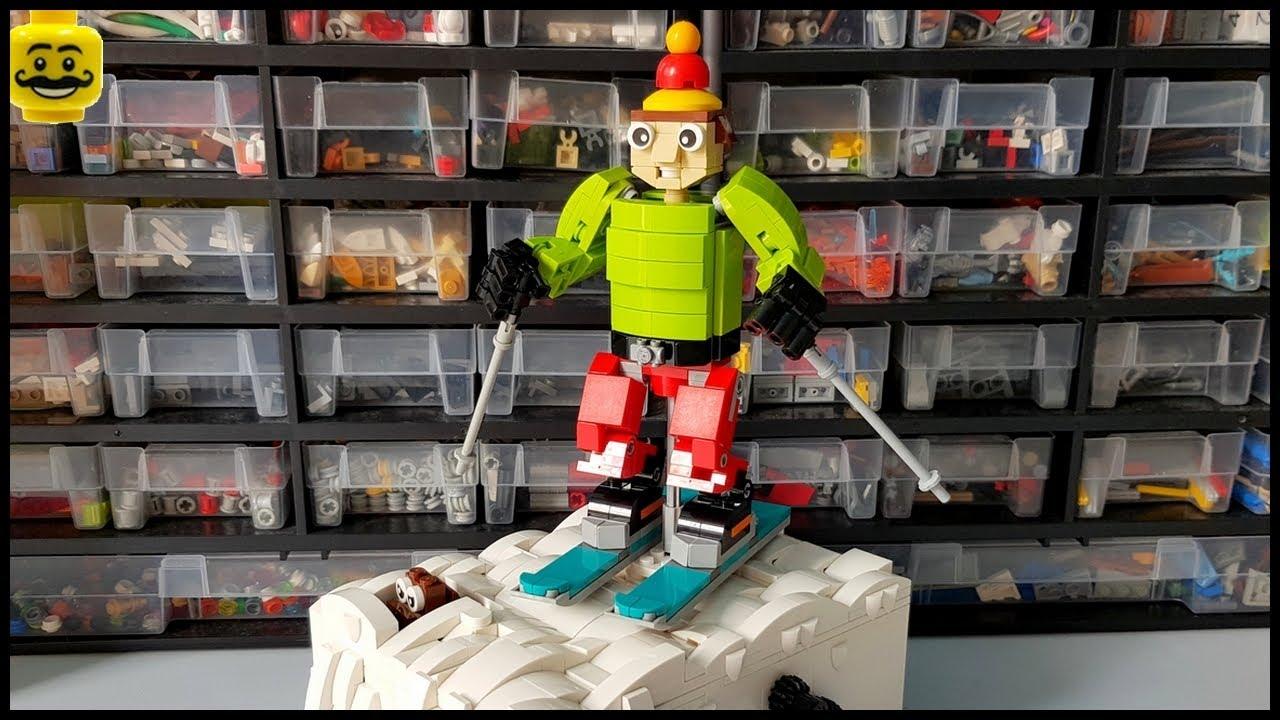 LEGO Automaton the Skier and the Marmot