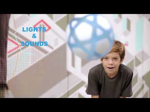 Youtube Video for Smart Ball - Counts Keepy Uppys for you!