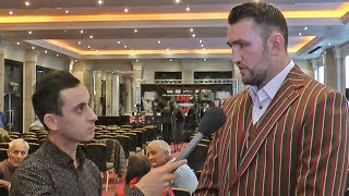 Hughie Fury: Joseph Parker Won't Get Past Me! No One Is Stepping In My Place!! Talk Is Cheap!