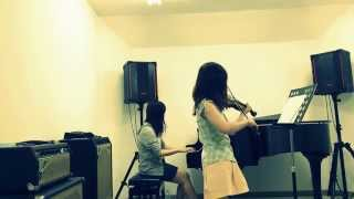 創世のアクエリオンバイオリンとピアノで創世のアクエリオンを弾いてみた弾いてみた