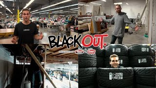 BlackOut 2.0 - Forsberg's new shop in progress, Dylan suits up and signs a tire deal