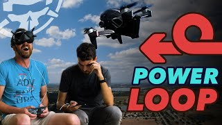 How to POWER LOOP A Freestyle Drone - First Flight to Freestyle with DJI FPV