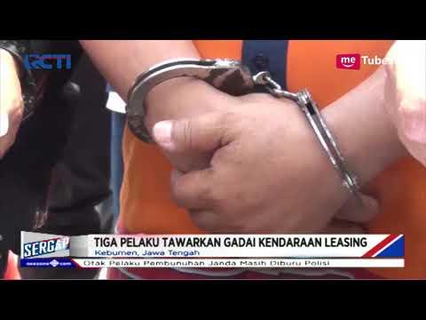Gelapkan Motor Kredit, Kepala Desa di Kebumen Ditangkap Polisi - Sergap 25/01