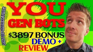 You Gen Bots Review, Demo, $3897 Bonus, YouGen Bots Review