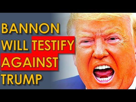Trump Ally Steve Bannon WILL Testify AGAINST Him