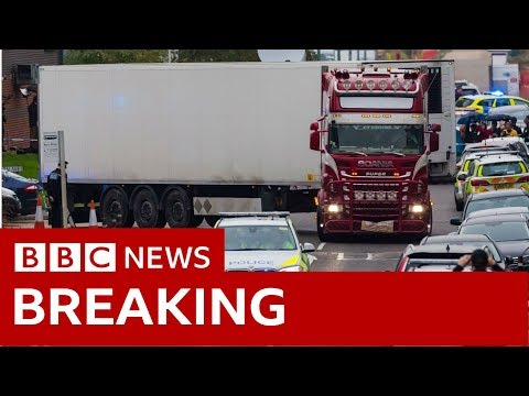 39 found dead in lorry 'were Chinese nationals' - BBC News