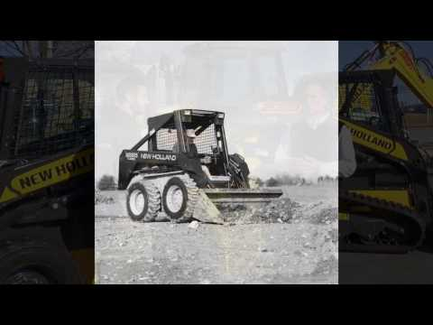 The 250,000th Skid Steer Loader by New Holland