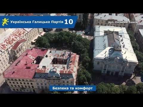 Над Левом: вул. Лесі Українки, Низький Замок, Корнякта, Яна Жижки, Гавришкевича