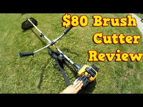 Cheap Ebay / Supermarket Brush Cutter, Strimmer – Review + Instructions NAC
