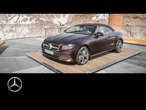 Mercedesbenz E Class Cabriolet Кабриолет класса E - рекламное видео 1