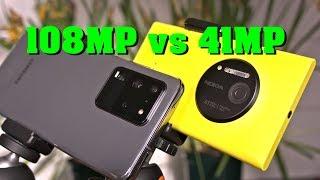Samsung Galaxy S20 Ultra vs. Nokia Lumia 1020 - full-res comparison