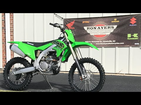2021 Kawasaki KX 250X in Greenville, North Carolina - Video 1