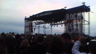 "Shinedown ""Simple Man"" at KUFO Rockfest"