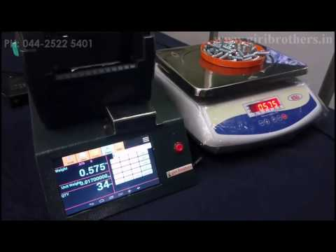 Intelligent Counting Scale