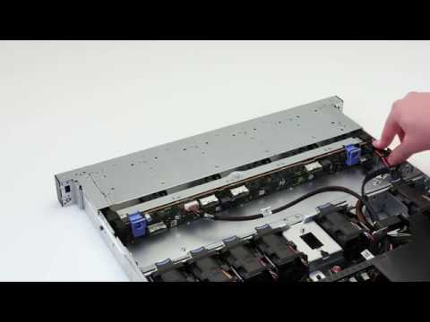 Dell EMC PowerEdge R7415: Remove/Install x24 Backplane