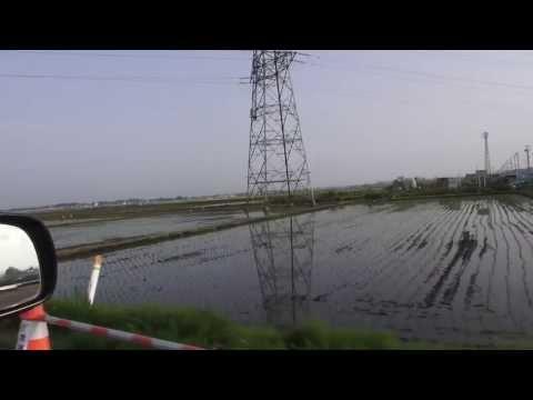 仙台市若林区 水田地帯