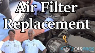 Air Filter Replacement Subaru Impreza 2014