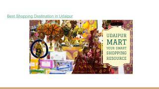 Best Shopping Destination in Udaipur
