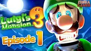 Luigi's Mansion 3 Gameplay Walkthrough Part 1 - Luigi's Vacation! The Last Resort!
