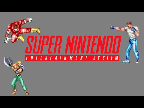 Top 20 best SNES beat em up games