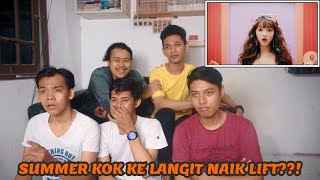 OH MY GIRL   BUNGEE (Fall In Love) MV REACTION | PERI SUMMER!!!