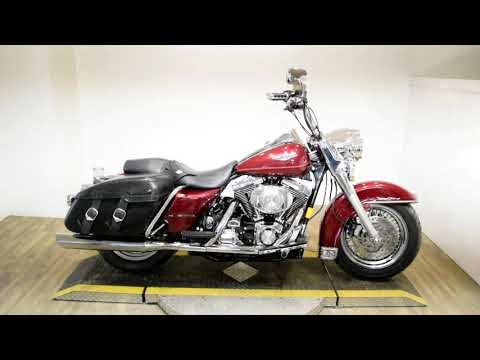 2001 Harley-Davidson FLHRCI Roadking Classic in Wauconda, Illinois - Video 1