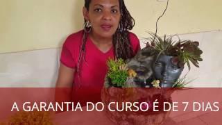 FAÇA VOCÊ MESMO SUA FONTE DE ÁGUA 1/3. VIDEO EDITADO POR MODIFICAÇOES NO CURSO