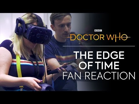The Edge of Time VR Fan Reaction | The Edge Of Time | Doctor Who thumbnail