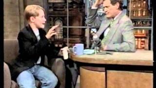 Macaulay Culkin - 06-09-94 Letterman