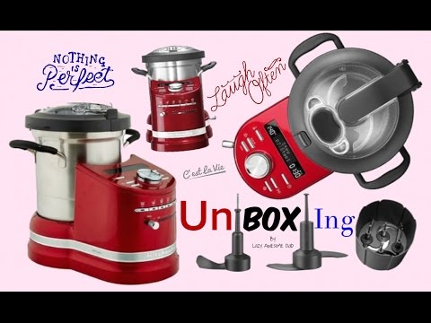 Unboxing KitchenAid cook processor ARTISAN Competition to Thermomix